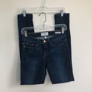 Frame denim le skinny de jeanne denim jeans 27